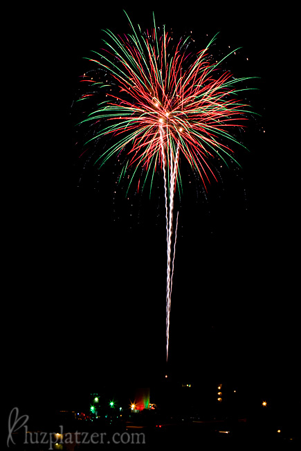 Fireworks at South Padre Island
