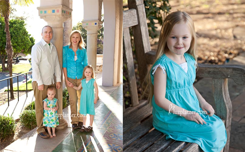 family session at the McNay in San Antonio by Luz Platzer Photographic Art.