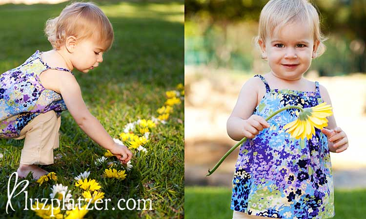 Spring children portraits in San Antonio